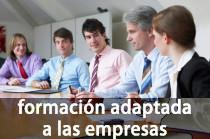 Formación adaptada a las empresas
